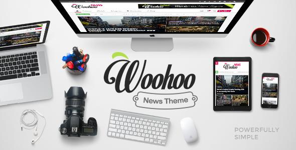 WooHoo theme wordpress tạp chí tin tức