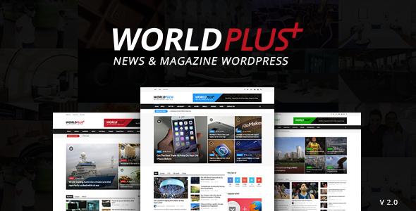 worldplus theme wordpress tạp chí tin tức trả phí