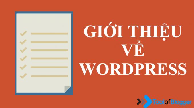 Giới thiệu về WordPress