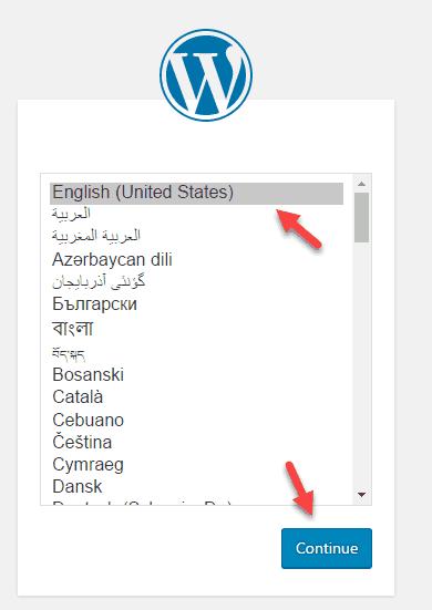 cài đặt wordpress trên localhost 22