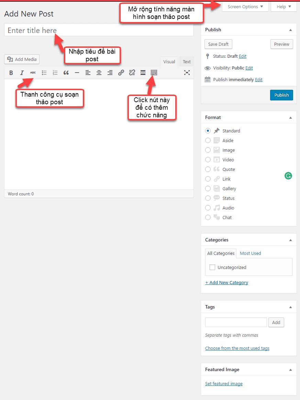 cách tạo post trong WordPress 15