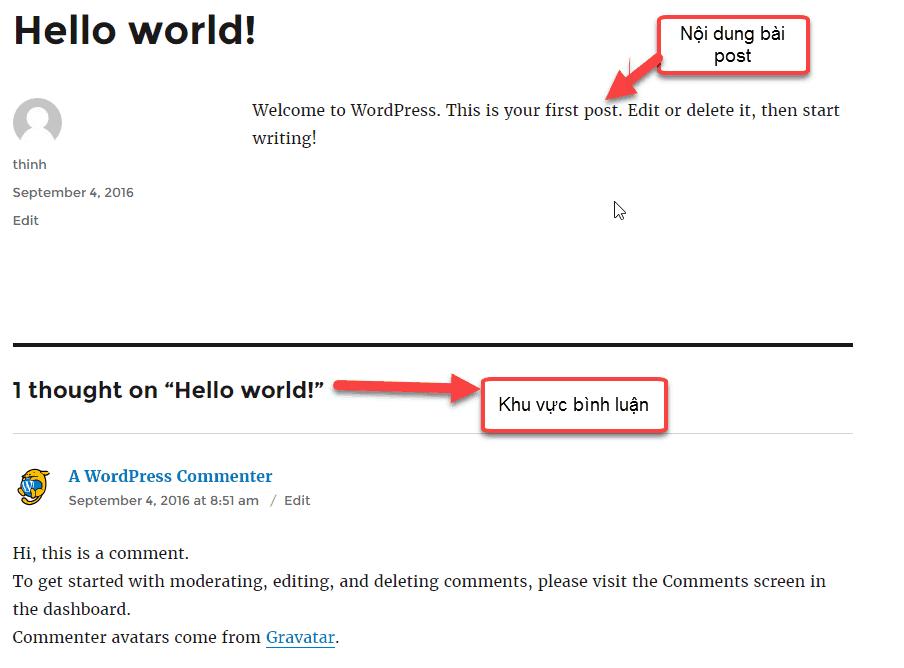 tổng quan WordPress