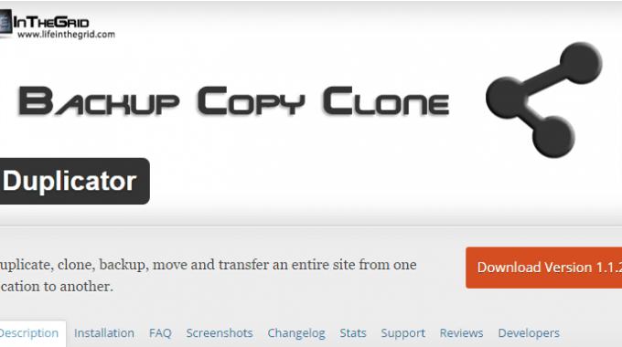 Cách di chuyển và sao lưu website của bạn với plugin Duplicator