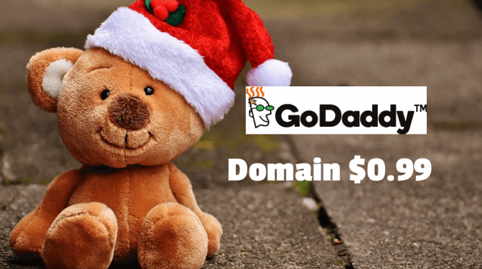 Godaddy domain 0.99