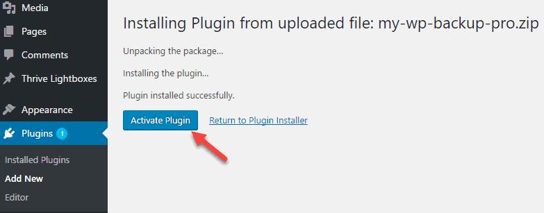 cài đặt plugin WordPress 6