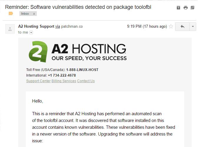 đánh giá a2 hosting