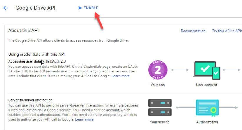 Google Drive Api Key