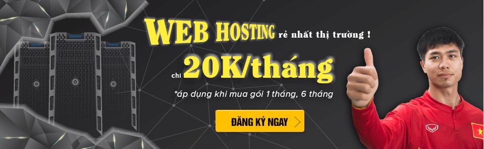Mua web hosting tại z.com, giá chỉ 20k/tháng
