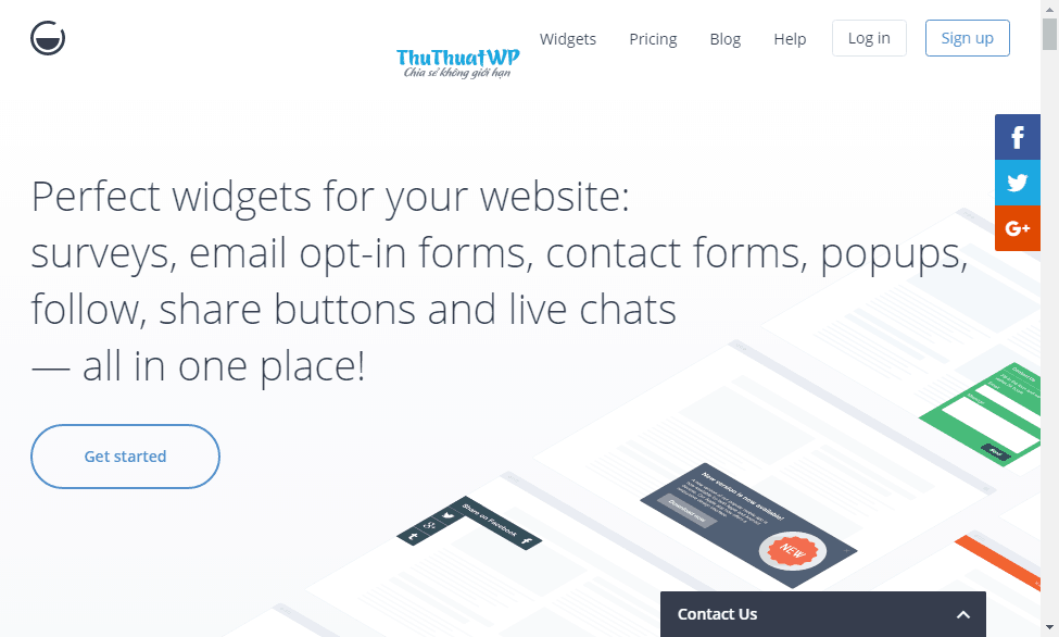 Tạo widget website WordPress