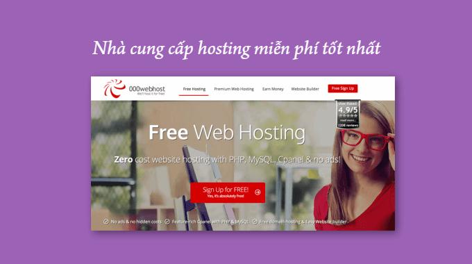 7 nhà cung cấp hosting miễn phí tốt nhất cho WordPress