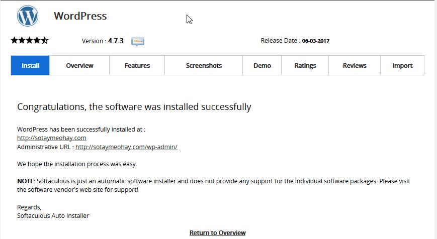 cài đặt wordpress trên hosting của azdigi 6