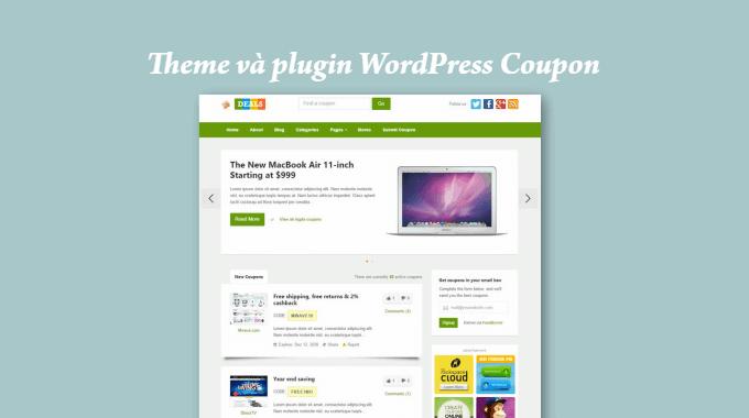 14 theme và plugin WordPress về coupon, mã giảm giá