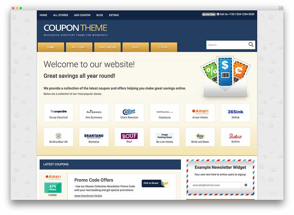 theme WordPress coupontheme
