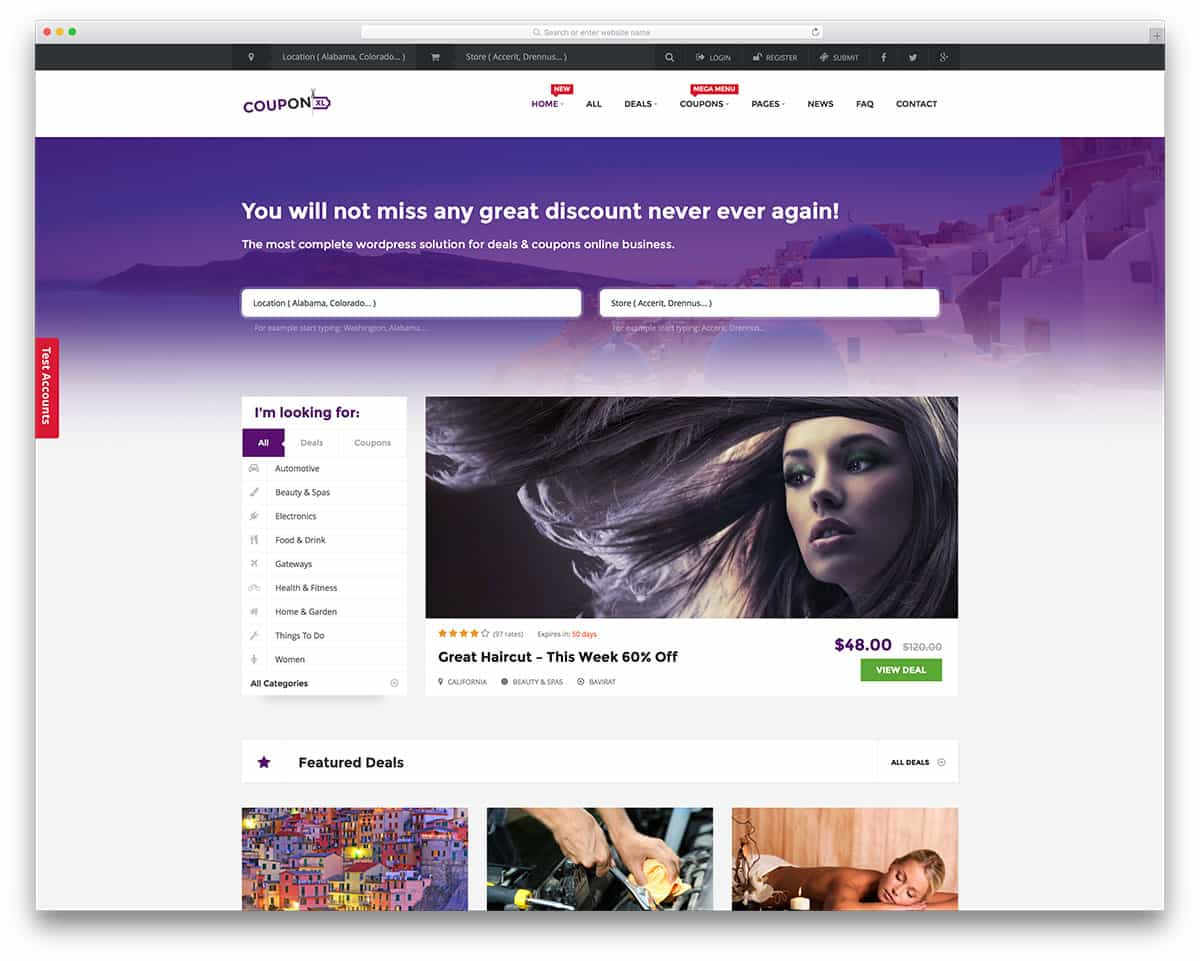 theme WordPress couponxl