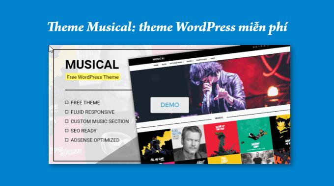 Theme Musical: một theme miễn phí mới của MyThemeShop
