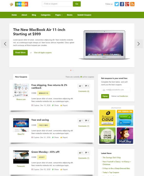 theme wordpress deals