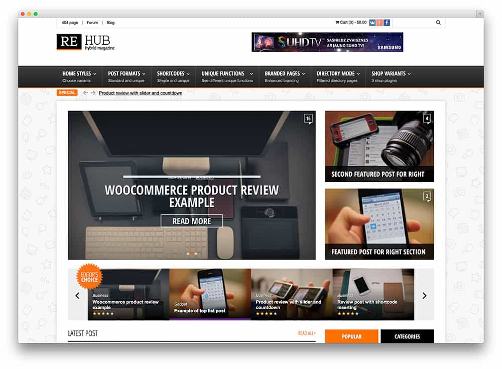 theme wordpress rehub