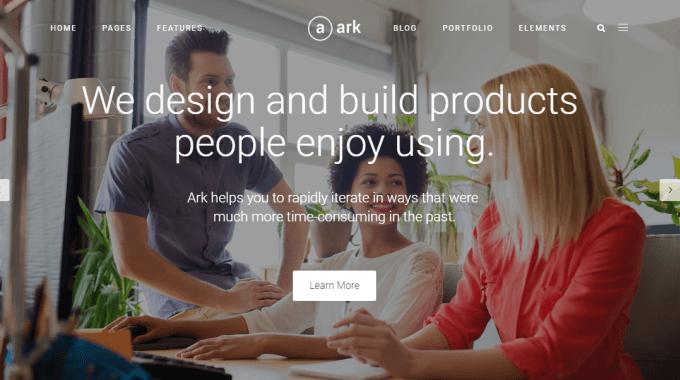 Đánh giá Ark Theme: theme WordPress đa năng có rating cao nhất