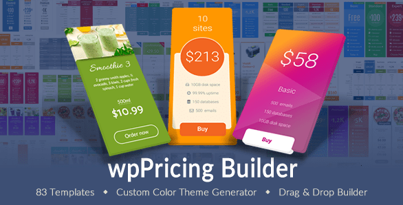 plugin wppricing builder