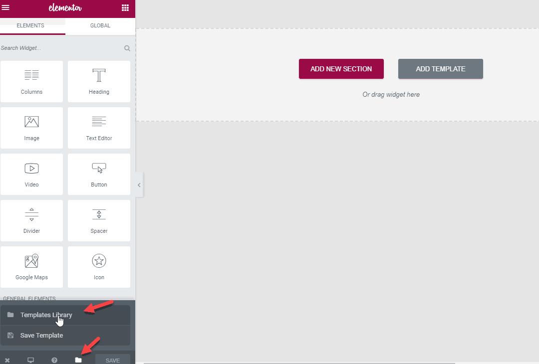 tạo landing page đơn giản sử dụng elementor 3