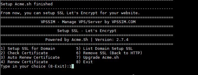 cài đặt wordpress vpssim 11