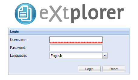 hướng dẫn cài đặt extplorer 1