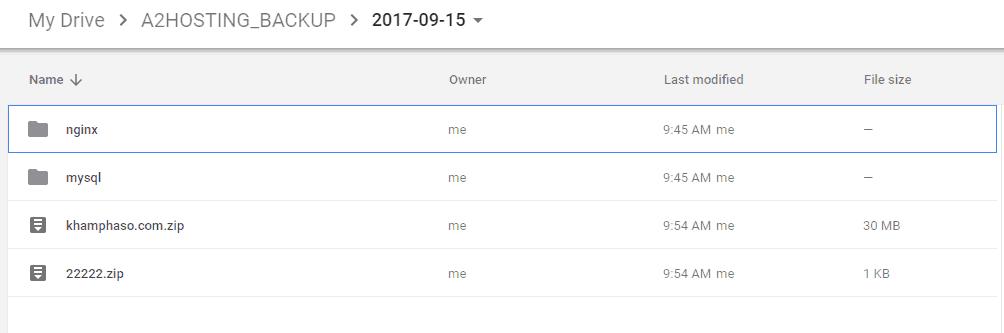 Hướng dẫn cài đặt Rclone để backup VPS lên Google Drive