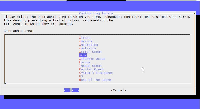 việc cần làm sau khi tạo máy chủ Linux 1