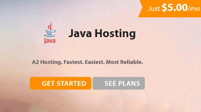 Top dịch vụ Java Hosting giá rẻ bạn nên dùng