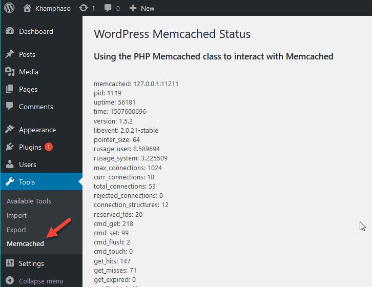 cài đặt memcached trên máy chủ Linux cài HocVPS 3