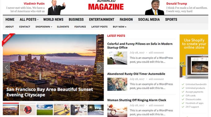 10 theme WordPress tạp chí miễn phí tốt nhất