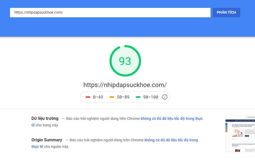 kiểm tra tốc độ website a2hosting